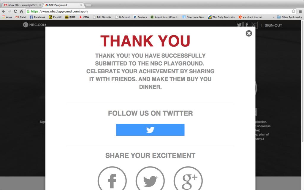 NBC Playground 2014